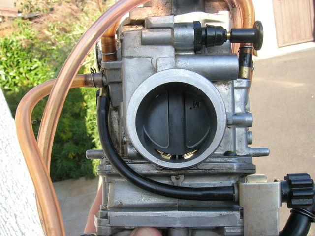 Reglage carburation 450 wrf 2004 - Vis de richesse carburateur ...