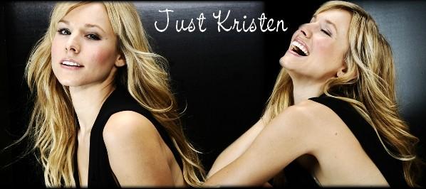 Just Kristen Bell