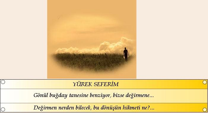 YÜREK SEFERİM
