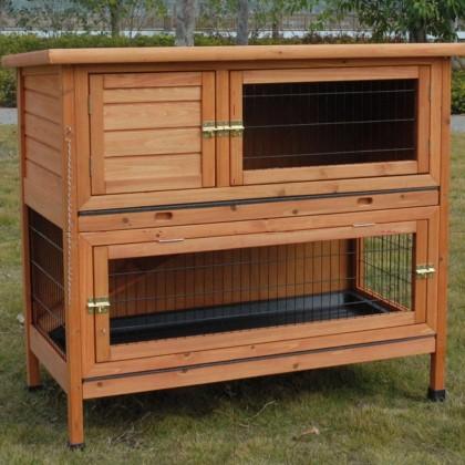 Quelle cage ou clapier choisir for Cabane a lapin exterieur