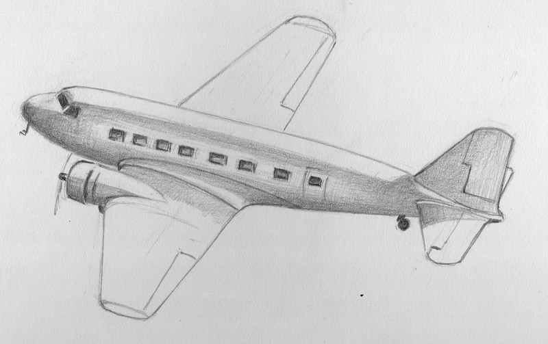 Pr sentation - Dessin d un avion ...