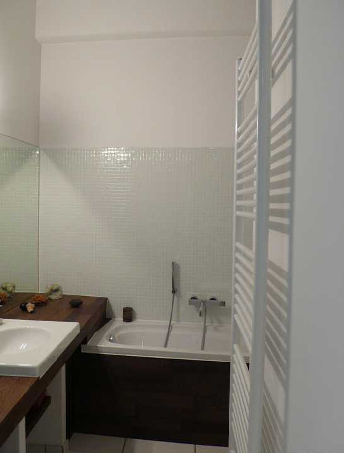 Salle de bain petite salle de bain avec douche italienne for Petite salle de bain avec douche italienne