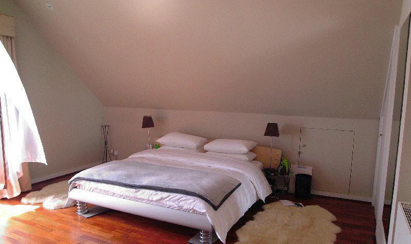 conseils d co chambre adulte sous les combles. Black Bedroom Furniture Sets. Home Design Ideas