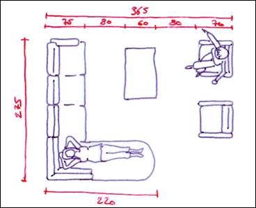 Conseils pour organiser son salon - 2 canapes dans un salon ...