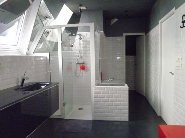 Conseils d co salle de bain en mosa que blanche for Salle de bain new york