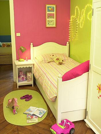 couleurs chambre bébé