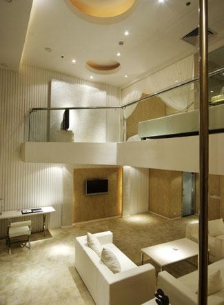 conseil d co photos de faux plafond avec lumi re indirecte. Black Bedroom Furniture Sets. Home Design Ideas