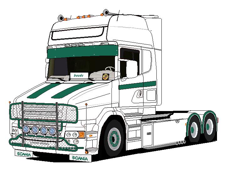 Préférence 10 Coloriage Camion Scania A Imprimer Gratuit DJ69