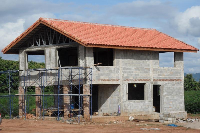 La construction de notre petite maison for Petite maison construction