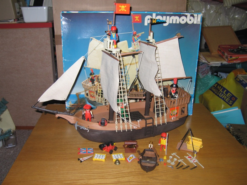 playmobil le th me des pirates vintage. Black Bedroom Furniture Sets. Home Design Ideas