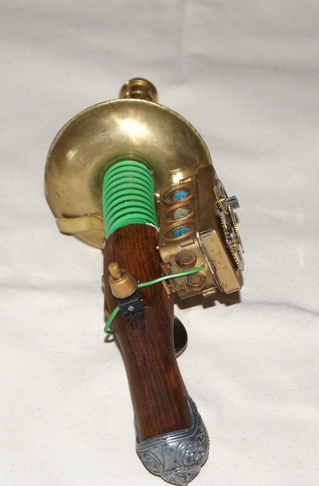 Steampunk voir le sujet r alisation d sint grateur - Lampe qui s allume en la touchant ...