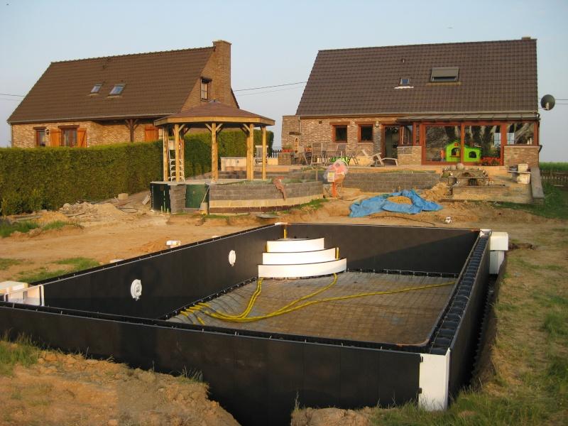 Construction d 39 une magiline 10x5 pap piscines r alisations for Aspirateur piscine octogonale