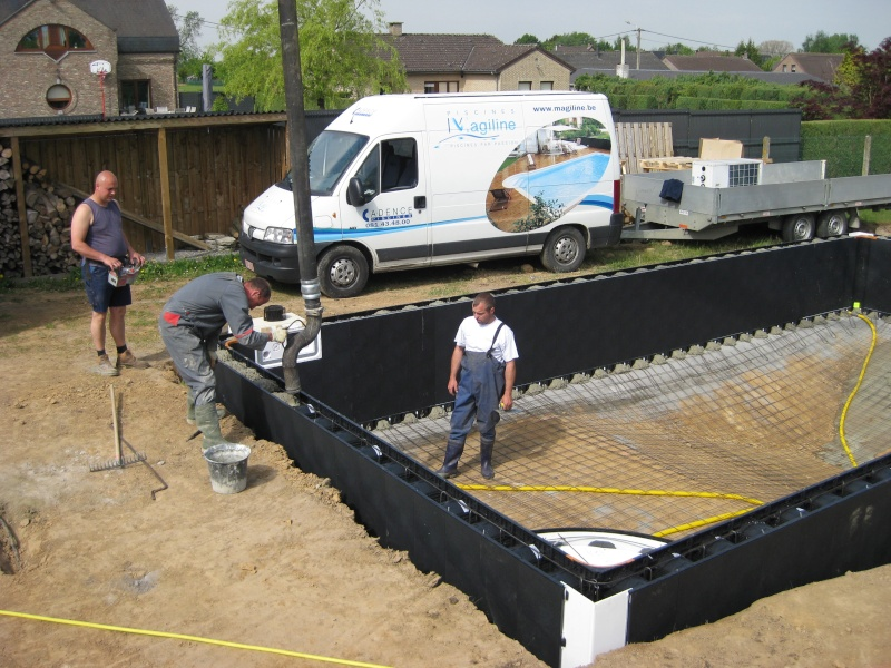 Construction d 39 une magiline 10x5 pap piscines r alisations for Cout construction piscine 10x5