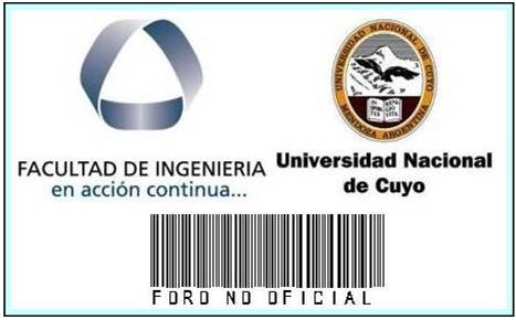 Facultad de Ingenier�a UNCuyo