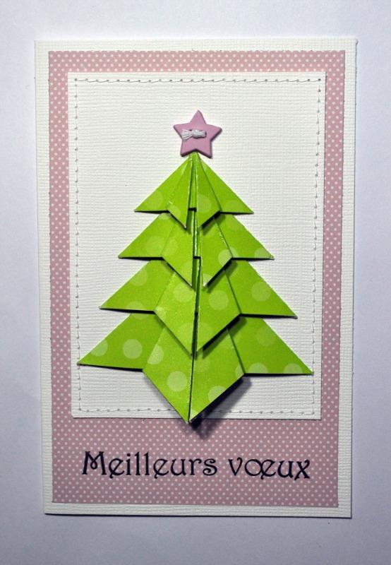 7 d cembre sapin en origami - Sapin de noel en origami ...