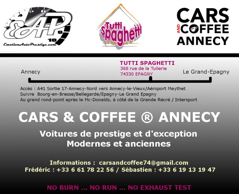 afficher le sujet rdv cars coffee annecy. Black Bedroom Furniture Sets. Home Design Ideas