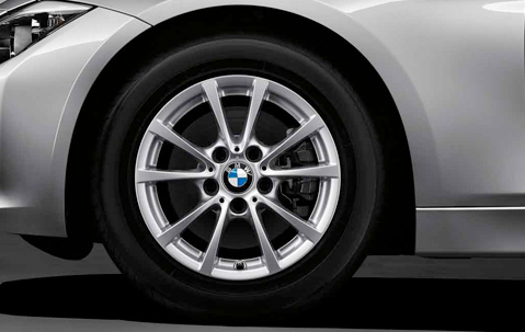 Jantes 16 Quot Style 390 224 Rayons En V Bmw Serie3 Com