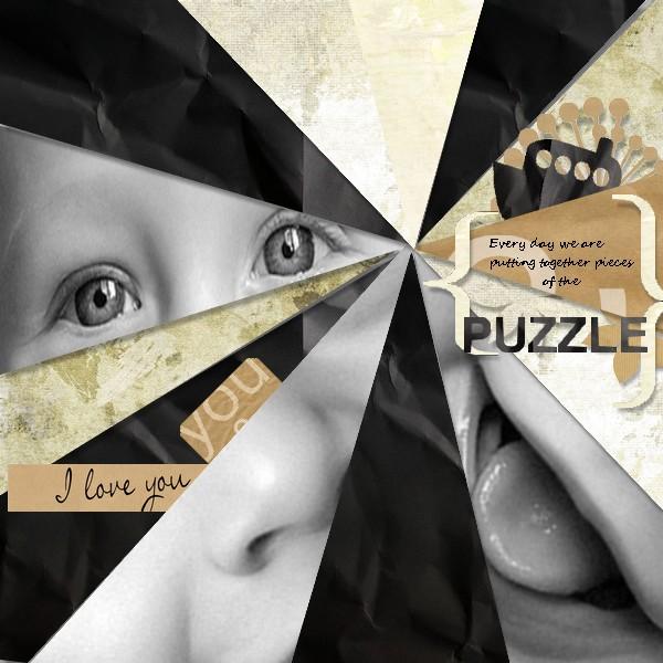 kit memories in kraft papers simplette page jeanou