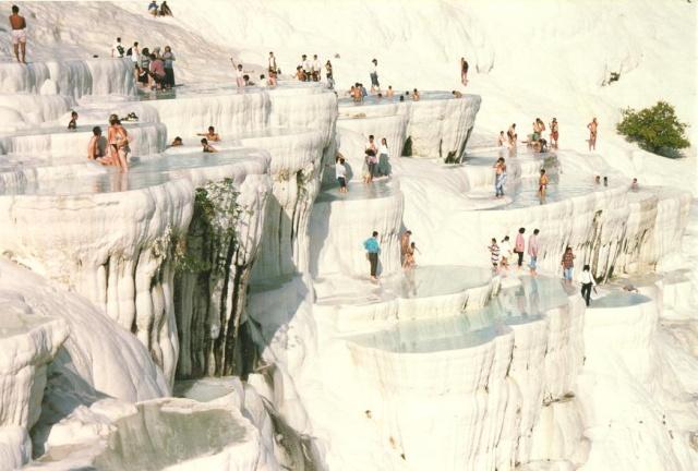 Asie turquie pamukkal la montagne de cotton - Peut on se baigner pendant la filtration de la piscine ...