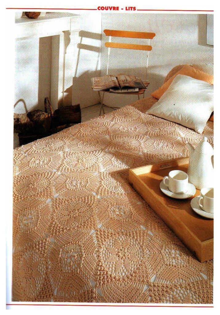 مفارش سرير كروشيه ، صور مفارش سرير كروشيه جديدة و حلوه مع التريكو روعه ، مفارش سريرك 15776_10.jpg