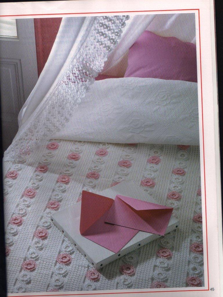 مفارش سرير كروشيه ، صور مفارش سرير كروشيه جديدة و حلوه مع التريكو روعه ، مفارش سريرك 23702_16.jpg