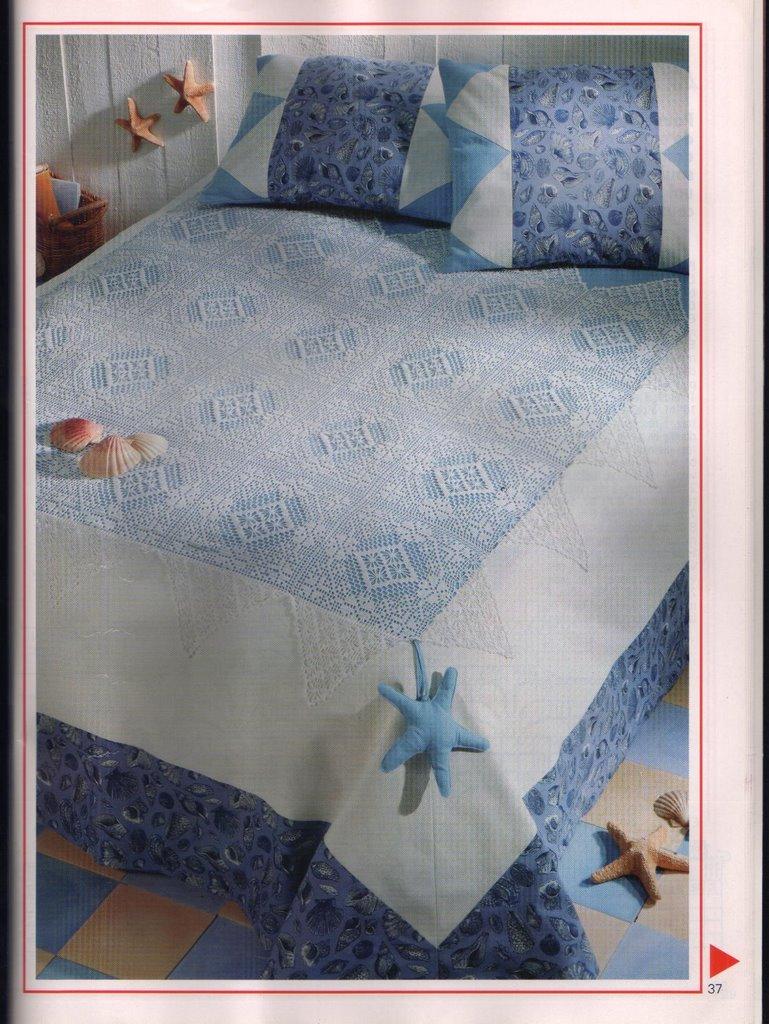 مفارش سرير كروشيه ، صور مفارش سرير كروشيه جديدة و حلوه مع التريكو روعه ، مفارش سريرك 23702_18.jpg