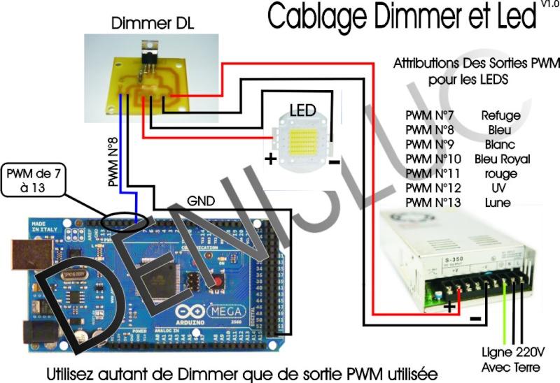 драйвер светодиода 50w схема