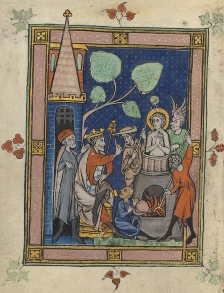 6 mai saint jean porte latine vers 95 vie des saints for Porte latine