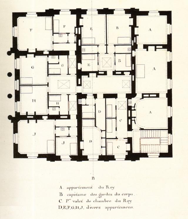 Plans du petit trianon for Trianon plan salle