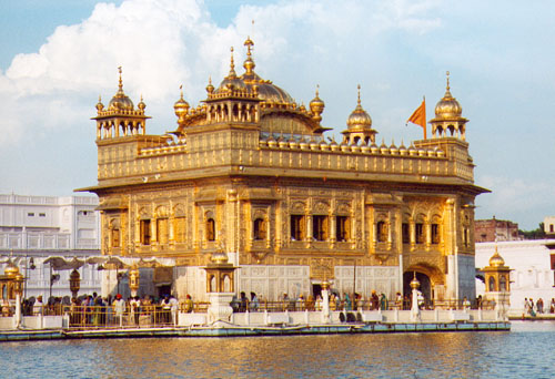 Le temple d 39 or d 39 amritsar inde for Architecture inde