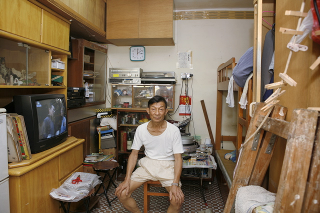 Hong kong appartements de 9 m et autres logements de par le monde - Farbiges modernes appartement hong kong ...