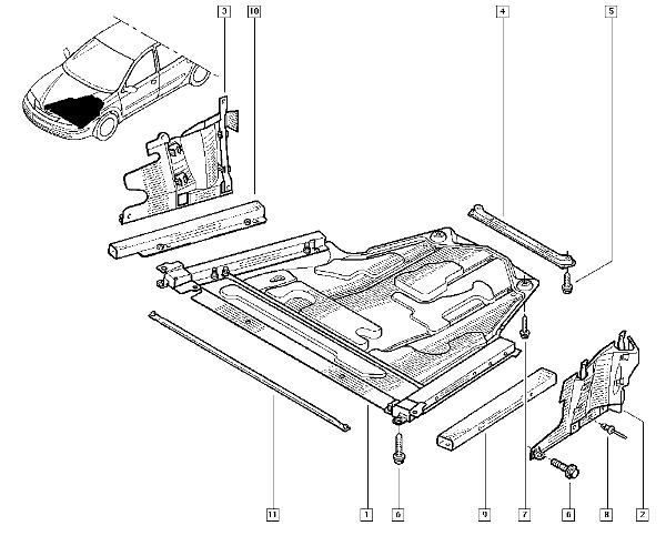 renault laguna ii 120ch changer les bras de suspension r solu. Black Bedroom Furniture Sets. Home Design Ideas
