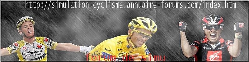 Simulation Cyclisme
