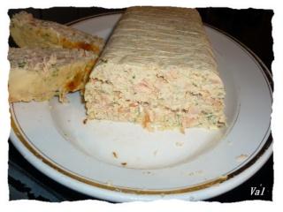 Blog de valsixt : Les gourmandises de Val, Terrine aux deux saumons