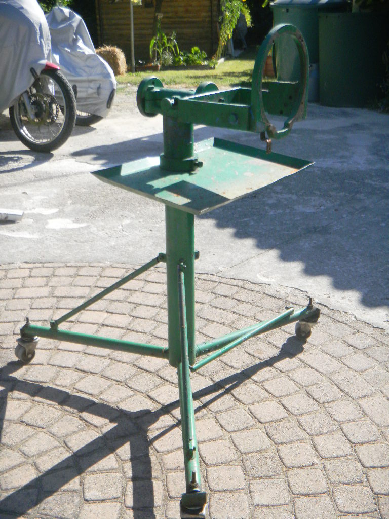 Outillages fait maison - Fabriquer un decolle pneu ...