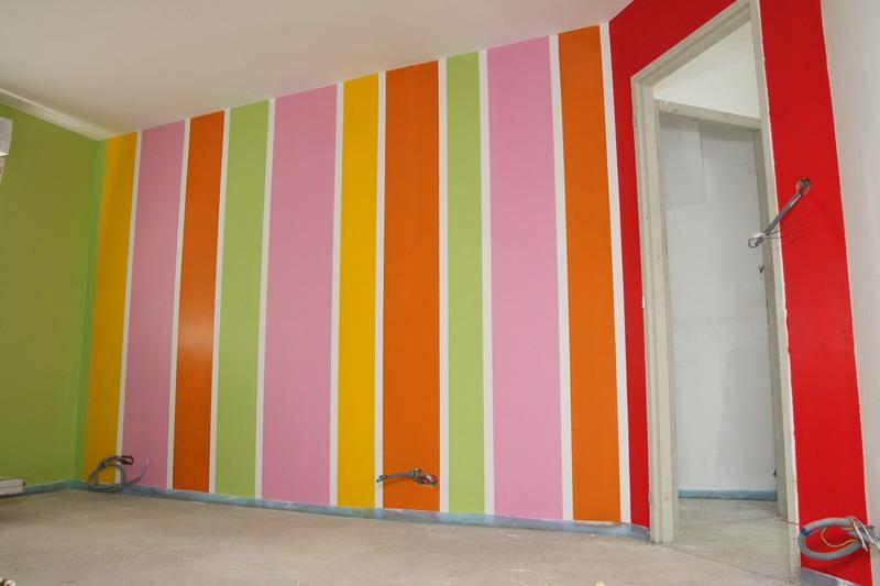 Peinture chambre elyne part 2 le blog de la for Peinture en ligne