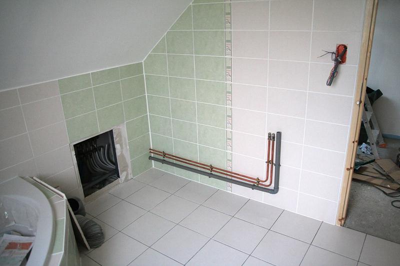 Plomberie sanitaires chauffage le blog de la construction de daniel et val rie - Tuyauterie evier cuisine ...