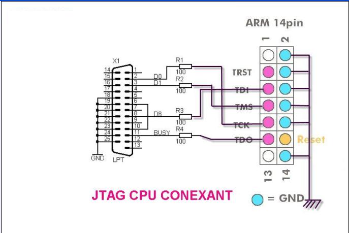 Arm-jtag программатор своими руками 46