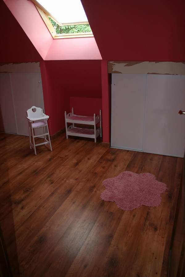 Peinture Chambre Sous Pente : Chambre des filles