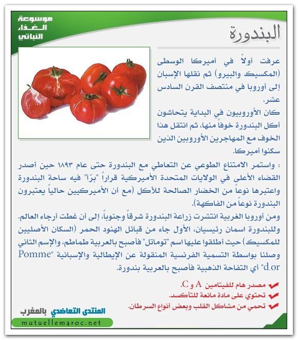 فوائد استعمالات البندورة الطماطم fo-03310.jpg