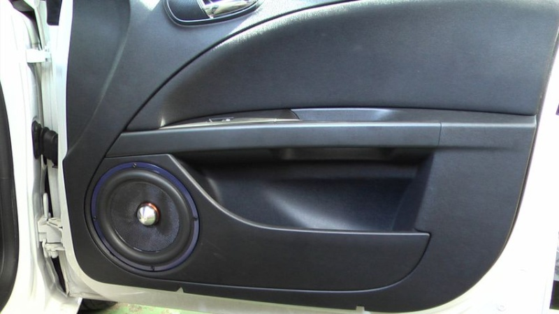 Mk2 Leon Door Speaker Upgrade From 6 1 2 Quot To 8