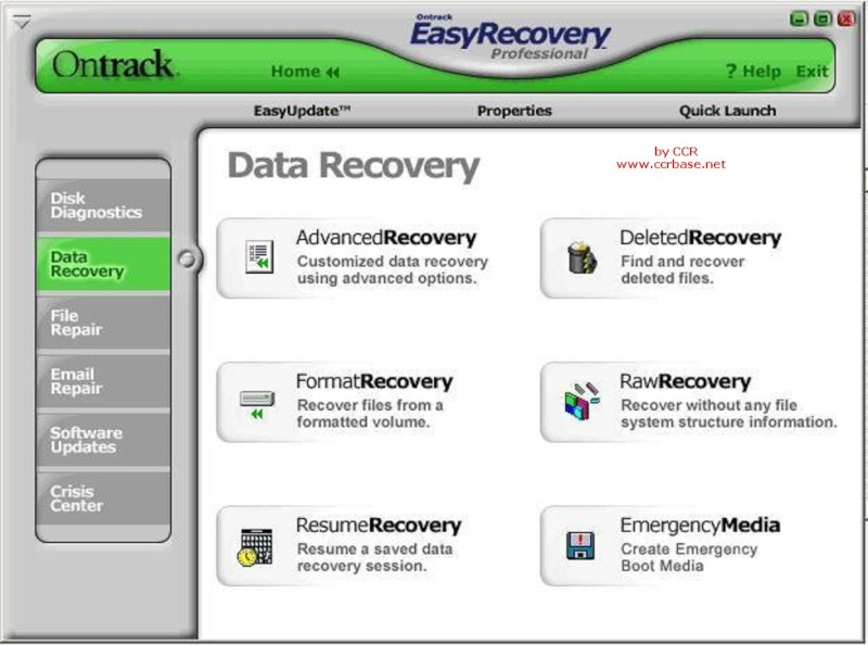 Ontrack EasyRecovery Professional 6.22 Retail (2011) + crack / крек.