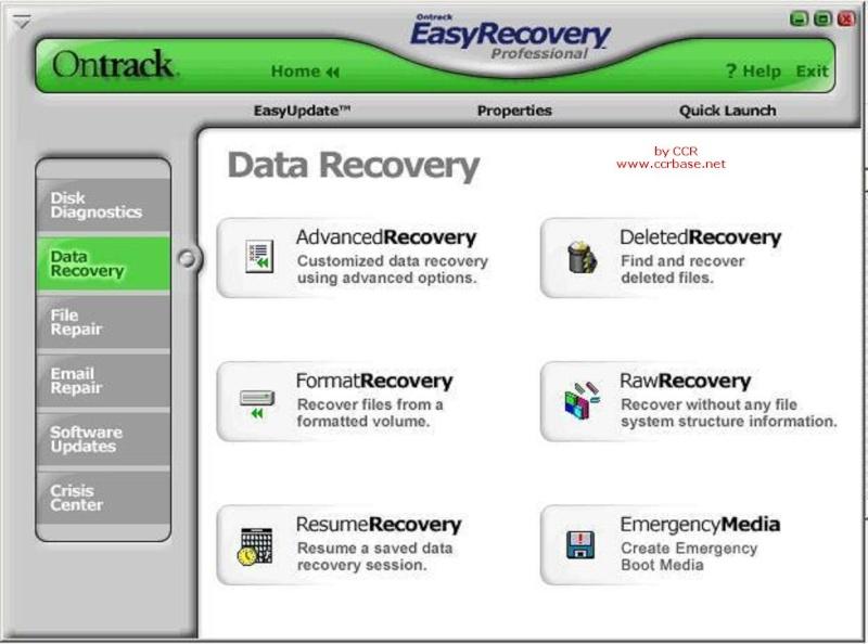 Ontrack EasyRecovery Professional 6.22 Retail (2011) + crack / крек.