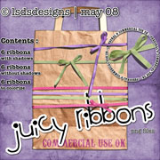 juicy ribbons