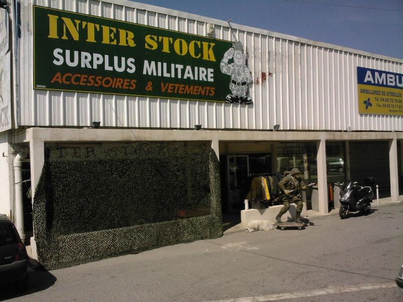 InterStock Surplus militaire