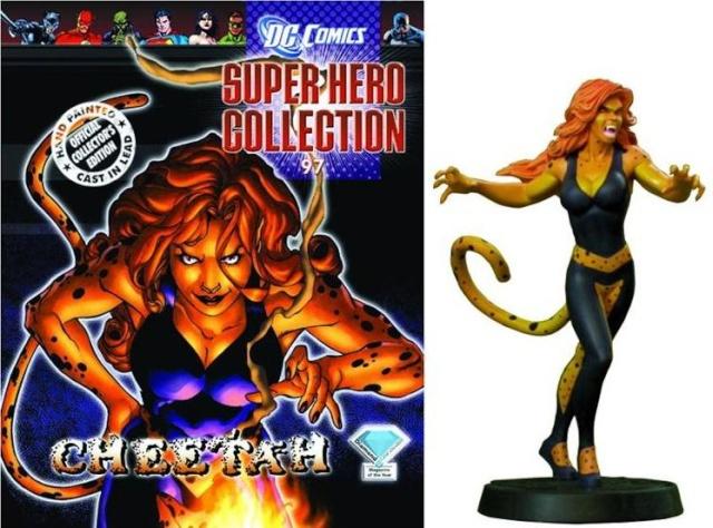 Figurine Plomb Super-héros DC Comics 101 MON-EL Eaglemoss