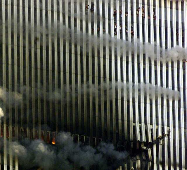 People Jumping Out Of Wtc September 11 2001
