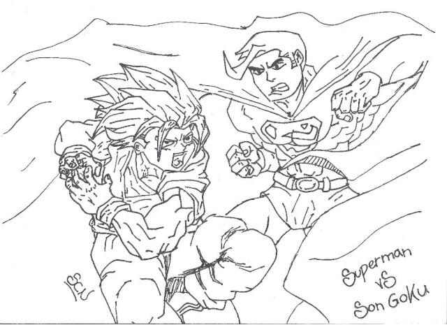 Lujo Imagenes Para Colorear De Goku Fase 4: Como Se Dibuja A Goku Fase 4