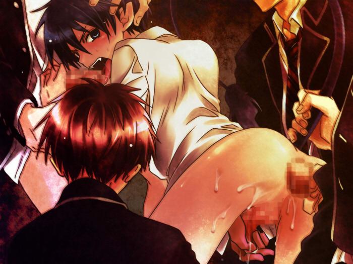 Image Yaoi Ao no exorcist