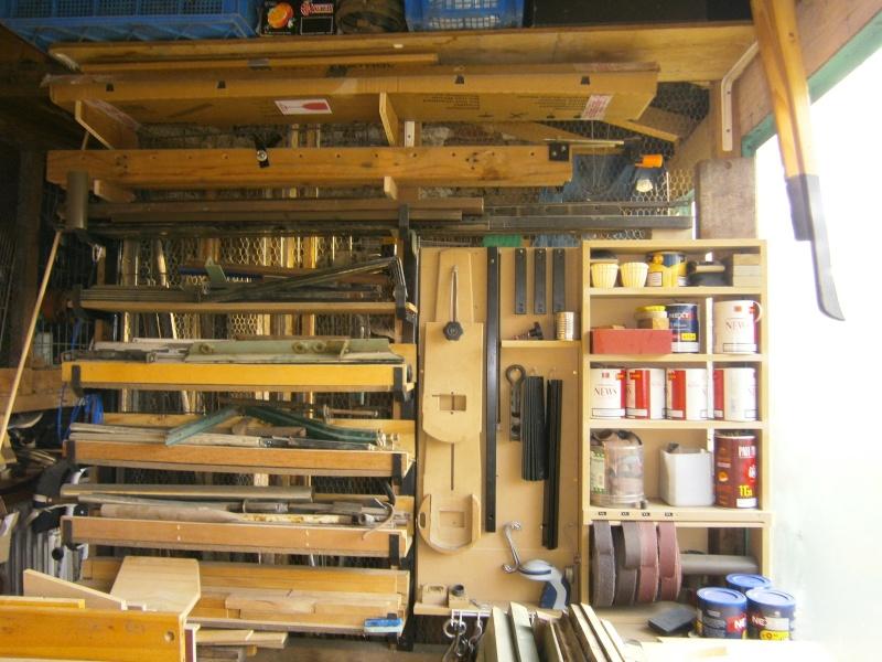 Exceptionnel Rangement Atelier Bricolage: Autour du tour rien ? voir avec le v  RI04